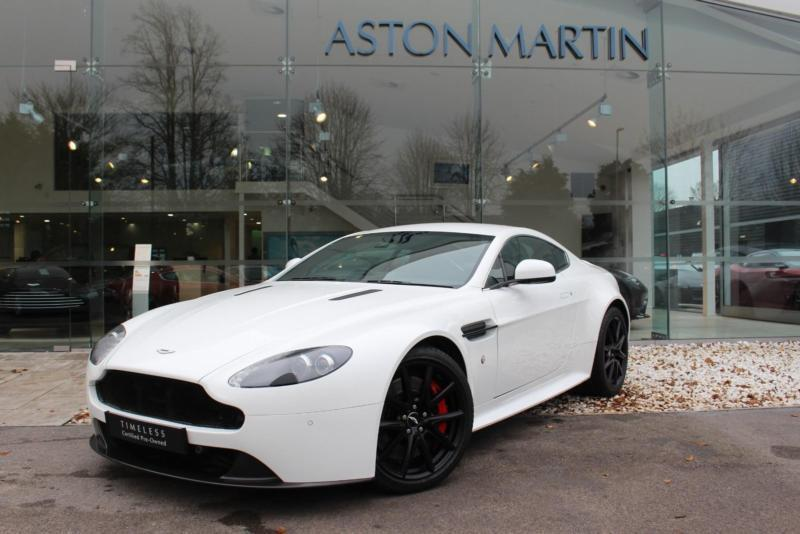 2013 Aston Martin V8 Vantage S Coupe Petrol White Automatic In