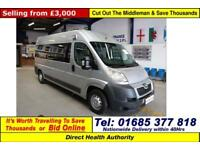 2011 - 11 - PEUGEOT BOXER 335 2.2HDI 120PS 6 SEAT DISABLED ACCESS PTS MINIBUS
