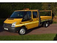 Ford Transit dropside D/cab 2.2 tdci lwb euro5