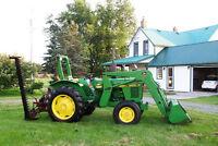 John Deere 1250 compact utility tractor