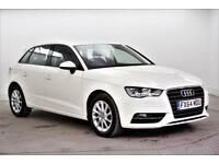 2014 Audi A3 TDI SE Diesel white Manual