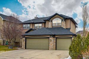 53 Discovery Ridge View SW | Triple Car Garage Luxury Home