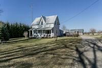Updated Century Home w/71.8 Acres - 1799 Ron Jones Rd., Tay ON