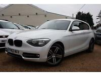 2012 62 BMW 1 SERIES 1.6 116I SPORT 3D 135 BHP - RAC DEALER
