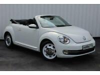 2014 Volkswagen Beetle 1.4 TSI Design Cabriolet 2dr Convertible Petrol Manual