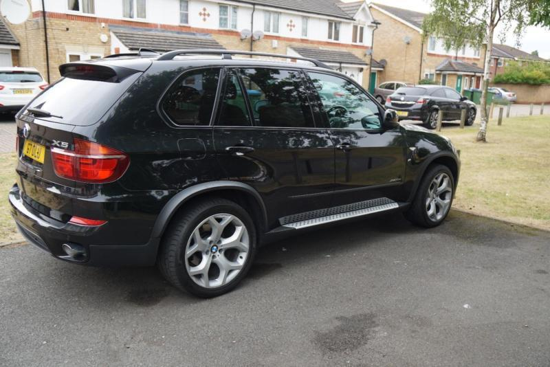 2010 my bmw x5 3 0td xdrive 30d se automatic diesel 4x4 suv in black in south east london. Black Bedroom Furniture Sets. Home Design Ideas