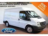 SEPT 11 Ford Transit 2.2TDCi Duratorq 280M (Med Roof) Van 280 MWB-BLUETOOTH-SH