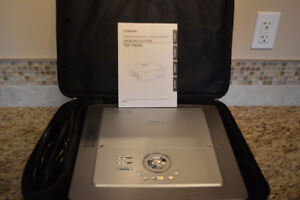 """100"""" projection 1080P Toshiba TDP-TW300 with power screen"""