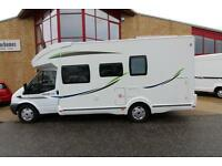 Ford Transit Chausson Flash best of 22, 6 berth Motorhome