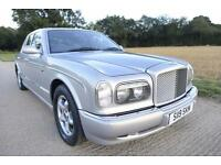 BENTLEY ARNAGE 4.4 TWIN TURBO GREEN LABEL 72K MILES! Rolls-Royce Seraph R T Red
