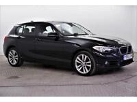 2015 BMW 1 Series 118D SPORT Diesel black Automatic