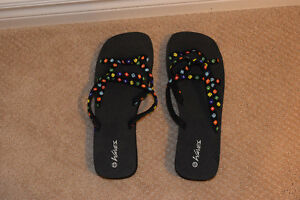 Brand New Waves Flip Flops Size 11