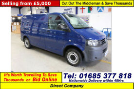 2011 - 61 - VOLKSWAGEN TRANSPORTER T32 2.0TDI 102PS SWB VAN (GUIDE PRICE)