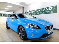 Volvo V40 2.0 D3 R-DESIGN [5X SERVICES, LEATHER, ?30 TAX and BEST COLOUR]