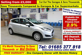 2013 - 63 - FORD FIESTA STYLE 1.5TDCI 5 DOOR HATCHBACK (GUIDE PRICE)