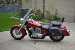 2008 Honda Shadow VT750 Aero With Touring Package