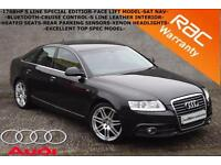 2011 Audi A6 Saloon 2.0TDI 170BHP S Line Special Edition-SAT NAV-LEATHER-CRUISE-
