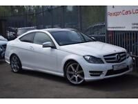 2014 Mercedes-Benz C Class C220 Coupe 2.1CDi 170 SS AMG Sport Edition 7GT+ Diese