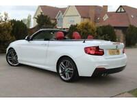 2015 BMW 2 Series 2.0 220D M SPORT 2d 188 BHP Convertible Diesel Automatic