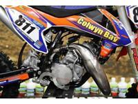 2017 KTM SX 50 MOTOCROSS BIKE BIG WHEEL, TALON HUBS K-TECH INSERTS