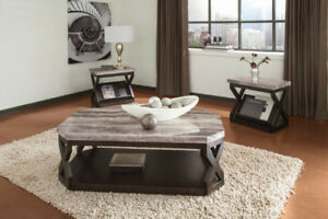 ASHLEY COCKTAIL TABLE SELECTION FROM $188