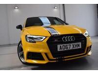 2018 Audi S3 2.0 TFSI Sportback S Tronic quattro Black Edition pan roof