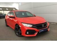 2019 Honda Civic 5dr 1.0t Vtec Sr Hatchback Petrol Manual
