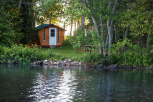 Prime Waterfront Cabins Near Ottawa. Just $75/Night