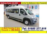2010 - 10 - CITROEN RELAY 35 2.2HDI 120PS 13 SEAT DISABLED ACCESS PTS MINIBUS