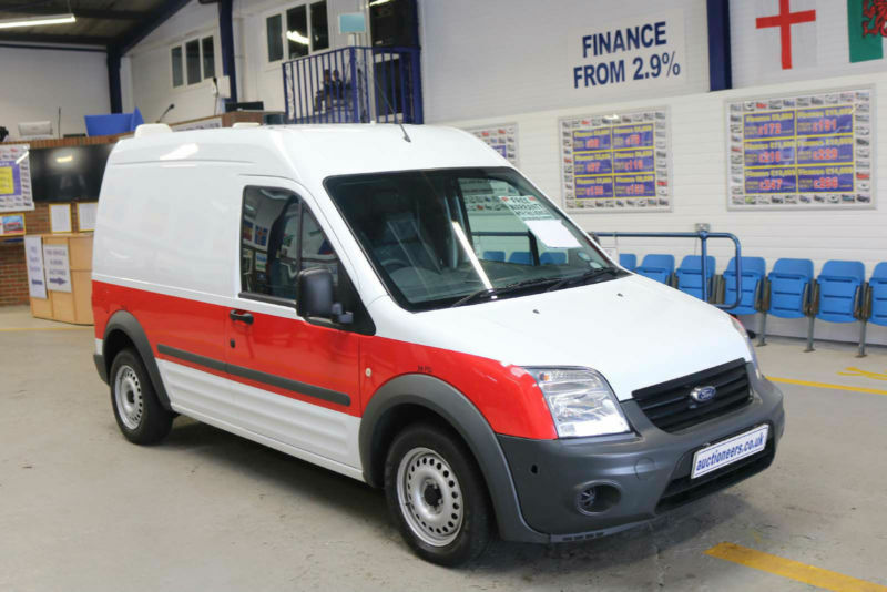 2012 - 62 - ford transit connect t230 1.8tdci 90ps lwb van (guide