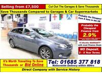 2018 - 63 - TOYOTA AVENSIS ICON 2.0 D-4D 5 DOOR ESTATE (GUIDE PRICE)