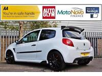 2008 Renault Clio 2.0 VVT Renaultsport Cup 3dr Petrol white Manual