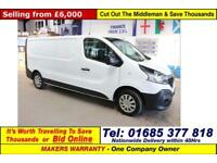 2015 - 65 - RENAULT TRAFIC LL29 BUSINESS 1.6DCI 115PS LWB VAN (GUIDE PRICE)