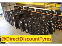Tyres At Discount Prices - FREE FITTING IN GAINSBOROUGH DN21 - 175/65 195/65 205/55 14 15 15 16 17