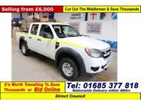 2011 - 11 - FORD RANGER 2.5TDCI 4X4 DOUBLE CAB PICK UP (GUIDE PRICE)