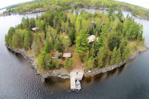 Private 3.5 acre island on Lake of the Woods