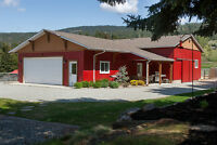 5175 Rittich Road, Kelowna - Private cozy country home