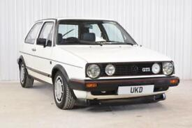 VW VOLKSWAGEN GOLF MK2 GTI 1.8 8V 3DR 1985 ALPINE WHITE SMALL BUMPER TYPE 19