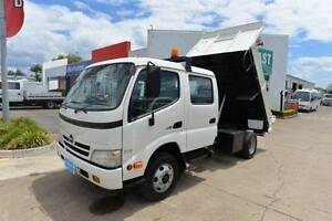 HINO DUTRO 300 ** DUALCAB ** TIPPER ** #4941 Archerfield Brisbane South West Preview