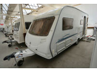 2006 Sterling Eccles Emerald 4 Berth Touring Caravan with Side Dinette