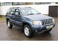 2004 JEEP GRAND CHEROKEE 2.7 CRD AUTO LTD £2895