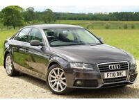 2010/10 Audi A4 2.0TDI ( 143ps ) Multitronic SE Auto, 115k, 11 SERVICES, 2 KEYS