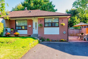 3+2 Bed Bungalow, Seperate Entrance Basement Apartment