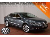 2013 Volkswagen CC 2.0TDI (140ps) DSG GT-HEATED LEATHER-SAT NAV-B.TOOTH-XENONS
