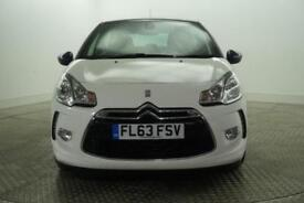 2013 Citroen DS3 DSTYLE PLUS Petrol white Manual