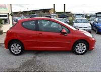 Peugeot 207 1.4 m:play 2008MY+RED+STUNNING