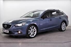 2014 Mazda 6 D SPORT NAV Diesel blue Manual