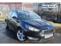 2015 Ford Focus 1.6 TDCi Zetec Hatchback 5dr (start/stop)