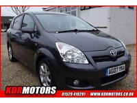 2007 Toyota Corolla Verso Sr D-4d 2.2 DIESEL 86K 6 SPEED MANUAL 7 SEATER