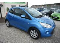 Ford Ka 1.2 STYLE 3 DOOR BLUE 2010 MODEL +BEAUTIFUL ORIGINAL EXAMPLE+